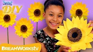 DIY Giant Sunflower | SPIRIT DIY