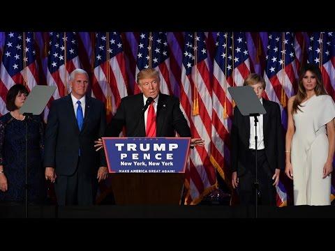 2016/11/09 Trump gana la presidencia de Estados Unidos