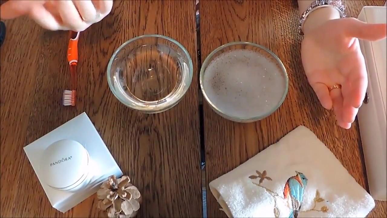 Как почистить браслет в домашних условиях 125