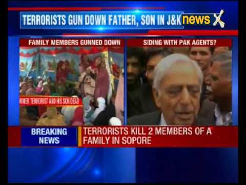 Former terrorist and 3 year old son killed at their home in Sopore