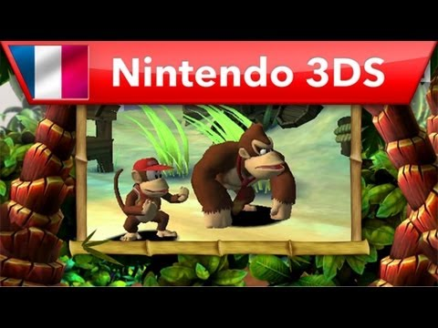 Donkey Kong Country Returns 3D - Bande-annonce de lancement (Nintendo 3DS)