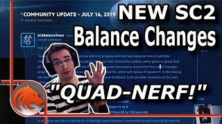*NEW* Balance Changes! - Zealots & Warp Prism NERFED!