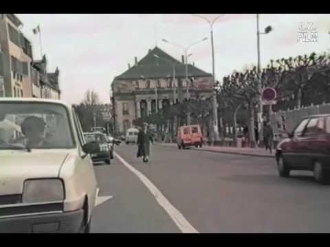 Un voyage dans le temps: Un parcours en voiture à Strasbourg (1988)
