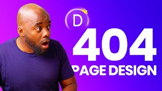 How to Create a Custom 404 Page - Divi theme builder