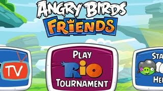 Angry Birds Friends - Rio Tournament - Week 172 All Levels