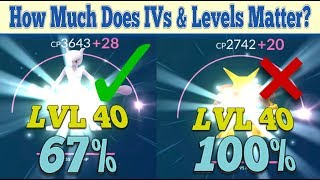 How Important Are IVs & Pokemon Levels In Pokemon Go