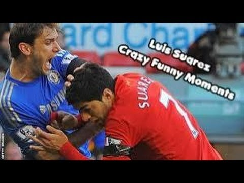 Luis Suarez Crazy Funny Moments || HD
