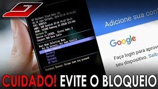 CUIDADO! Evite um bloqueio do seu celular pela conta Google (FRP) | Guajenet