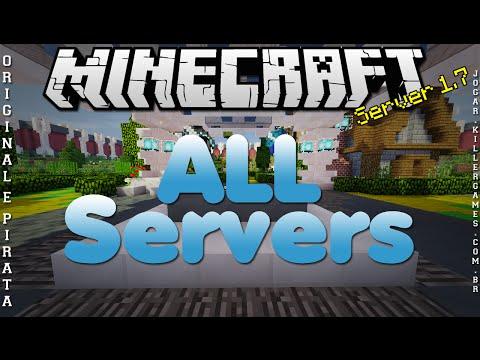 Divulgação de Server 1.7 All Servers Original e Pirata #253