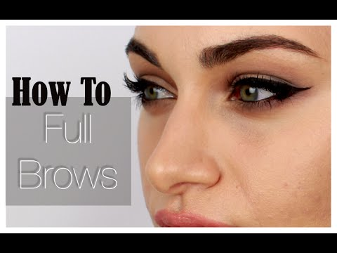 My Eyebrow Routine | RubyGolani