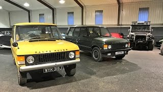 Range Rover Classic. Real world review of '71 Suffix A & 90s Vogue