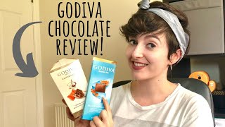 NEW Godiva Salted Caramel Chocolates review!