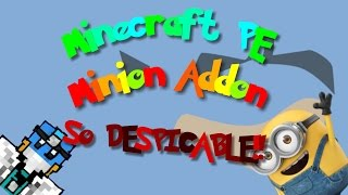 Minecraft PE | Minion Addon Review