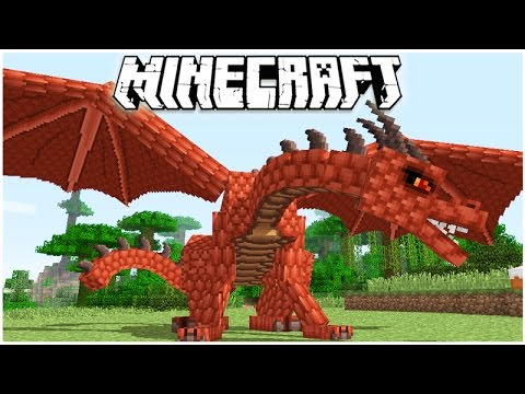 MINECRAFT 1.11 THERE'S A RED DRAGONS! FLYING & TRAINING MY DRAGONS!