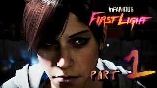 Infamous First Light - {part 1} Дела с братом