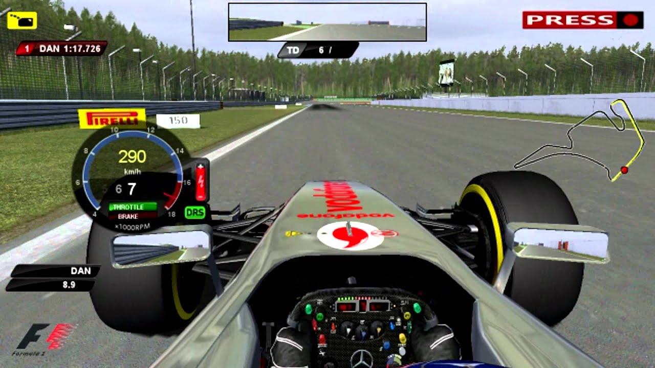 Формулы 1 f1 rfactor