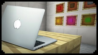 ✔ Minecraft: How to make a MacBook