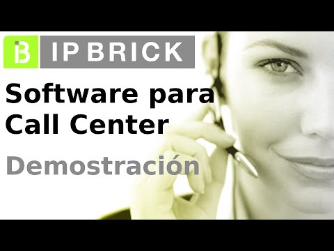 IPBRICK - Demostración de interfaz de Call Center - Software para Call Center