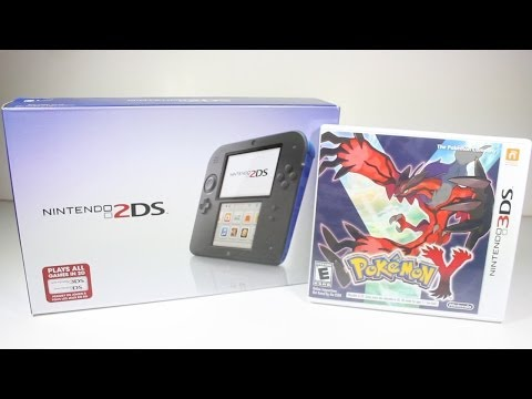 Nintendo 2DS & Pokemon Y Unboxing Demo Review