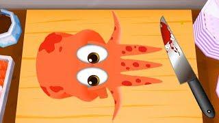 Permainan Masak Masakan Anak - Permainan Anak Laki-Laki & Perempuan - TO-FU Oh!SUSHI #5