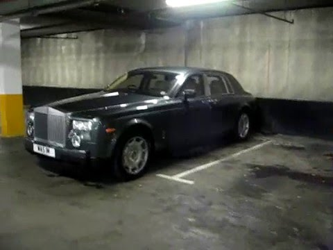 Exotic cars in Cadogan parking London