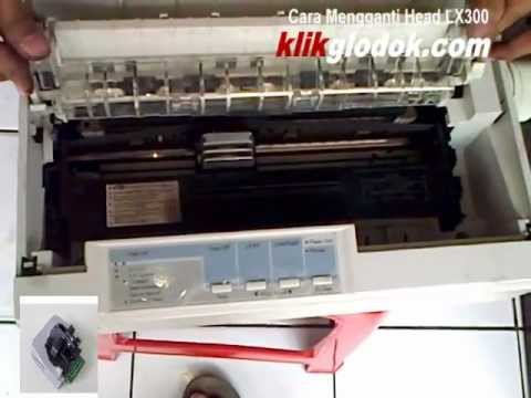 Cara Mengganti Head Printer Epson LX300