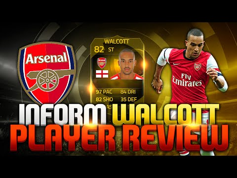Fifa 15 Striker INF Theo Walcott Review + In Game Stats Ultimate Team