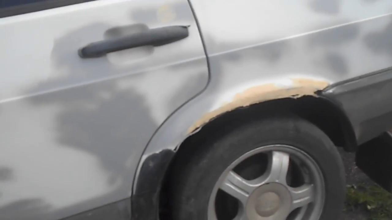 Покраска рыжиков на авто своими руками 45