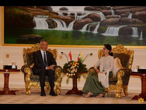 Press on Daw Aung San Suu Kyi and Singapore PM Meeting