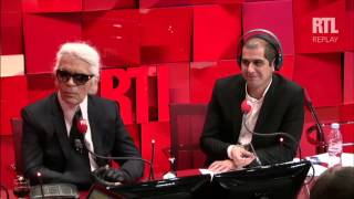 Karl Lagerfeld invité d'A la bonne heure du Mardi 29 Septembre 2015 - partie 3