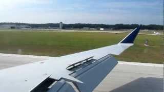 Beautiful HD landing Moline quad cities international airport delta crj-900 flight from Atlanta