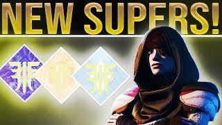 Destiny 2 Forsaken. NEW SUPER GAMEPLAY! Spectral Blades, Thundercrash, Well of Radiance & More!