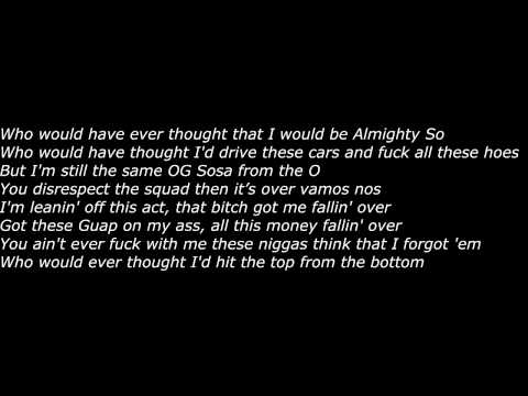 Chief Keef (Feat. Future) - Who Whould Ever Thought (Official Screen Lyrics)