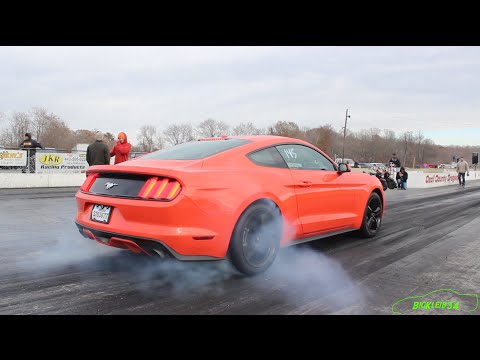 2015 Mustang Ecoboost 4Cyl is Shockingly Quick! - Tune Only by JLP