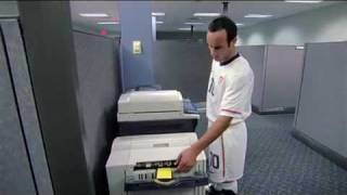 Commercial: Landon Donovan and Copy Machine