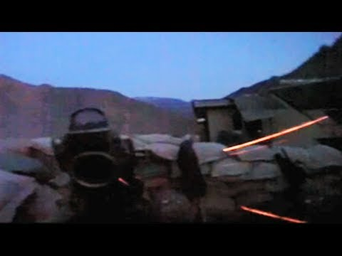 Intense Firefight With Taliban Tracers Close Overhead
