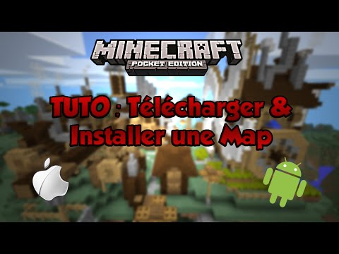Tuto: Télécharger & Installer une Map Minecraft Pocket Edition - Android / iOS (avec/sans jailbreak)
