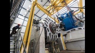 Supraleitender Generator auf dem Prüfstand