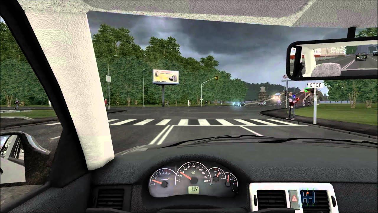 Обзор машины Lada Priora в игре Beam Ng Alpha версия