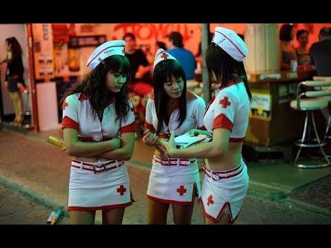Pattaya-walking Street Nightlife & Bar Girls video