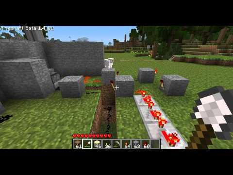 Minecraft - Les MDS 2 Tuto du piège à visiteur