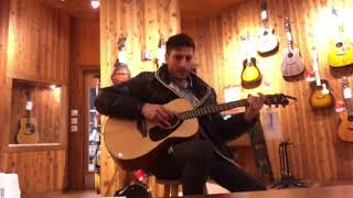 Yamaha FS800 acoustic guitar demo
