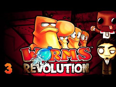 Team GoodFellas Gets Whacked (Worms Revolution: Part 3 w/ GassyMexican and ScoobyDoo!)