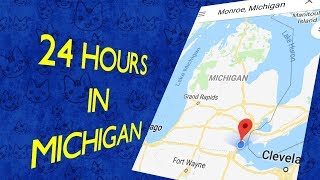 24 hours in Monroe, Michigan