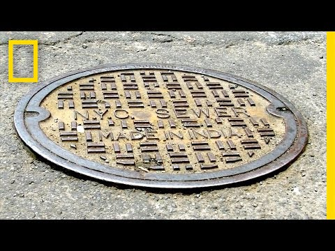 Ever Seen Where Manhole Covers Come From?