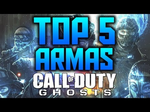TOP 5 Armas de Call Of Duty Ghosts
