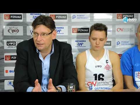 Konferencja pomeczowa - TS Ostrovia - AZS AJP Gorzów Wlkp.