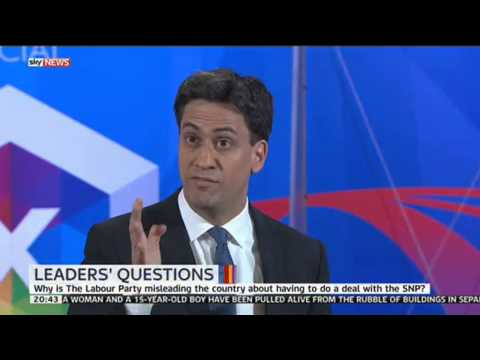 Ed Miliband rules out a Labour deal with the SNP