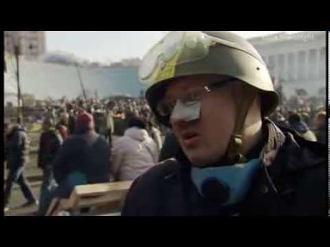 NEWSNIGHT: What do Ukraine's protesters think of the peace deal with the president?