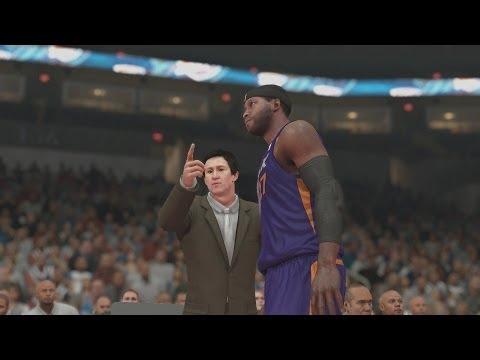 NBA 2K14 PS4 My Career - 1st NBA Game!